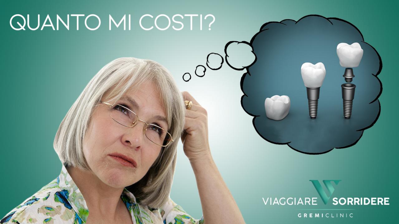 impianto dentale prezzi